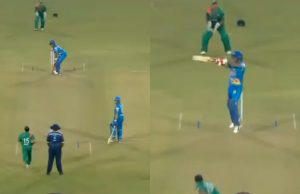 Virender Sehwag's Upper-Cut Six vs Bangladesh Legends