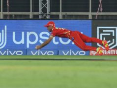Ravi Bishnoi unbelievable running catch in IPL 2021