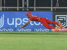 Ravi Bishnoi unbelievable running catch in IPL 2021