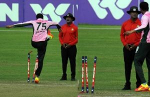 Shakib Al Hasan Lost His Temper At An Umpire Over An LBW Decision