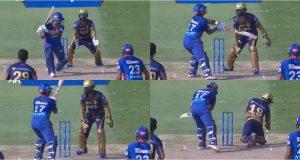 Rishabh Pant Almost Smashed Dinesh Karthik With His Bat Pic