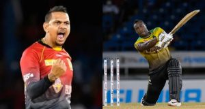 Sunil Narine Bowled Maiden Over To Andre Russell In CPL