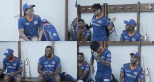Ishan Kishan was surprised to see Sachin in the locker room